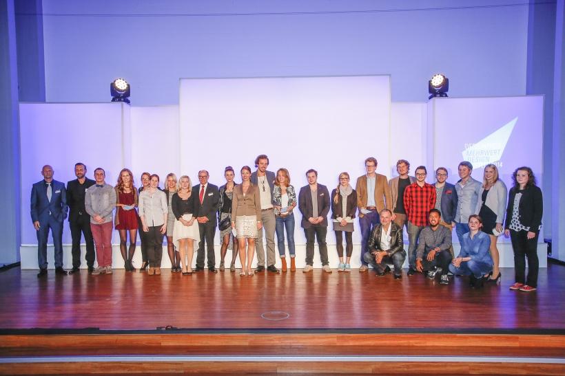 Siegerehrung beim Designpreis des Marketing-Clubs Krefeld. (Foto: T. Wellbrock)