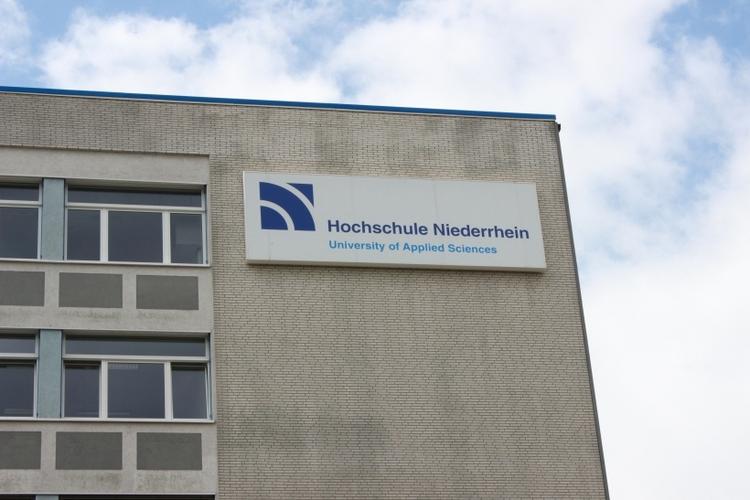 Erster Pflege- und Gesundheitstag an der Hochschule Niederrhein Dienstag, 21. Oktober 2014. (xity-Foto: E. Aslanidou)