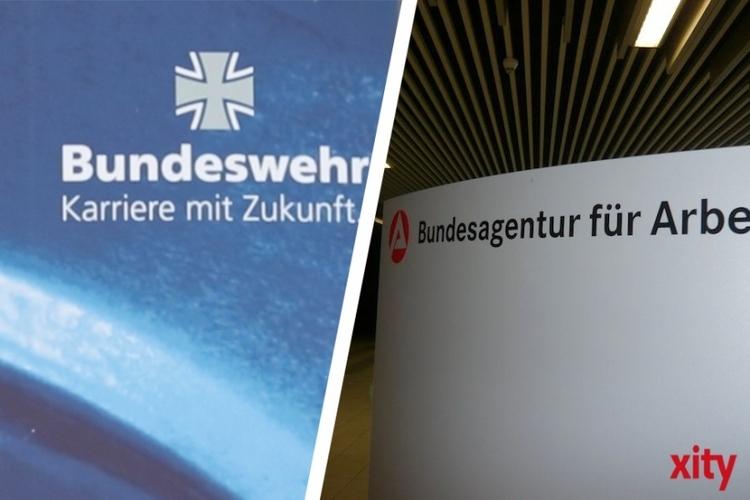 Die Agentur für Arbeit Düsseldorf informiert über Ausbildung und Studium bei der Bundeswehr (xity-Foto: D. Creutz)