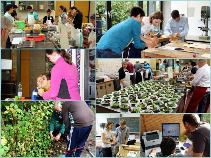 Seit 2005 existiert ein Netzwerk der Schülerfirmen an Düsseldorfer Förderschulen (Foto: LVR-Gerricus-Schule)