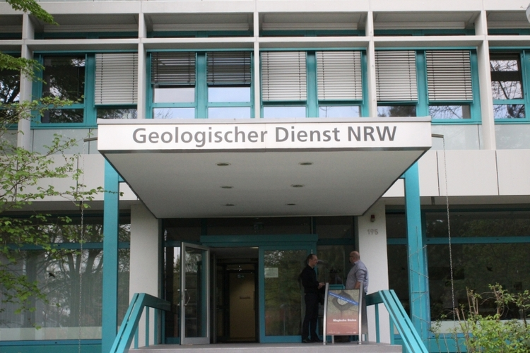 Der Geologischer Dienst Nordrhein-Westfalen (NRW) an der De-Greiff-Straße 195 in Krefeld lädt am Sonntag, 26. Oktober 2014, zum Tag der offenen Tür ein. (xity-Foto: E. Aslanidou)