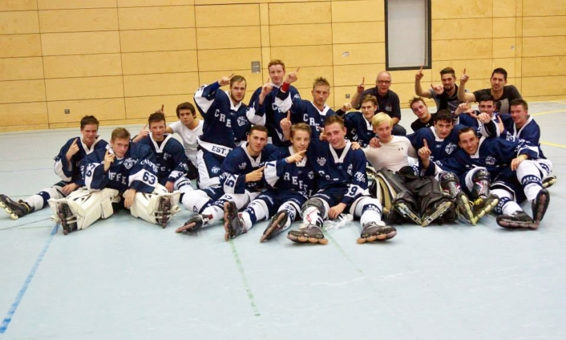 Die Skating Bears Junioren starten in die Play-offs um die NRW-Meisterschaft. (Foto: B. Becker)
