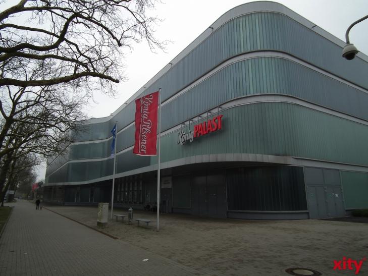 Frauen-Handball-Länderspiel im KönigPalast Krefeld. (xity-Foto: E. Aslanidou)