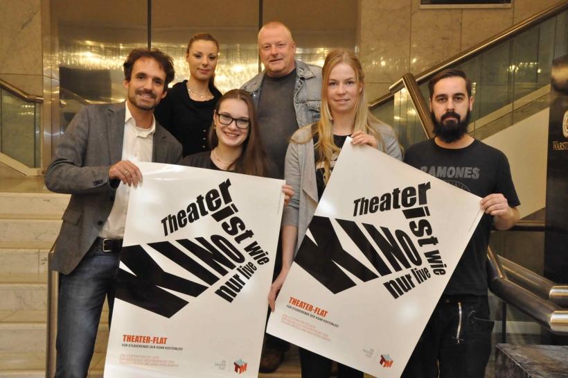 Hochschule Niederrhein, AStA und Theater bauen Kooperation aus. (Foto: Hochschule Niederrhein)