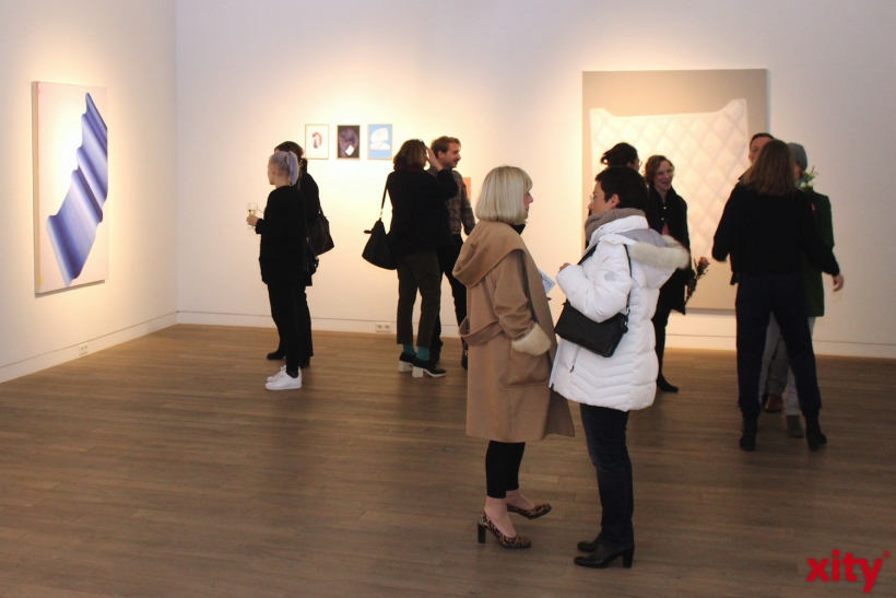Talking Silk Ausstellung bei Beck und Eggeling (xity-Foto: M. Müller)