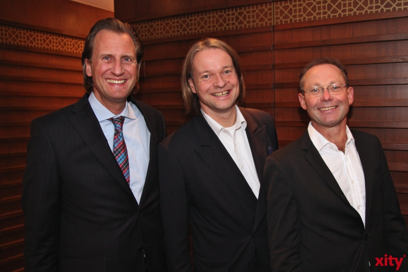 v.l. Claus Vogel, Matthias Kamp, Walter Schuhen (xity-Foto: H.Müller)