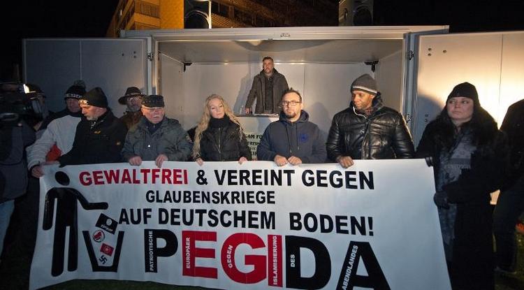 """Maas hält Pegida-Proteste für """"Schande für Deutschland"""" (© 2014 AFP)"""