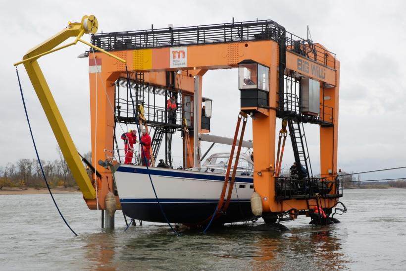 Big Willi im Einsatz für die Boot (Foto: Messe Duesseldorf / ctillmann)