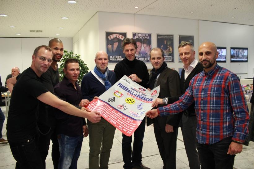 Krefelder Sportstars luden zur Autogrammstunde. (xity-Foto: E. Aslanidou)