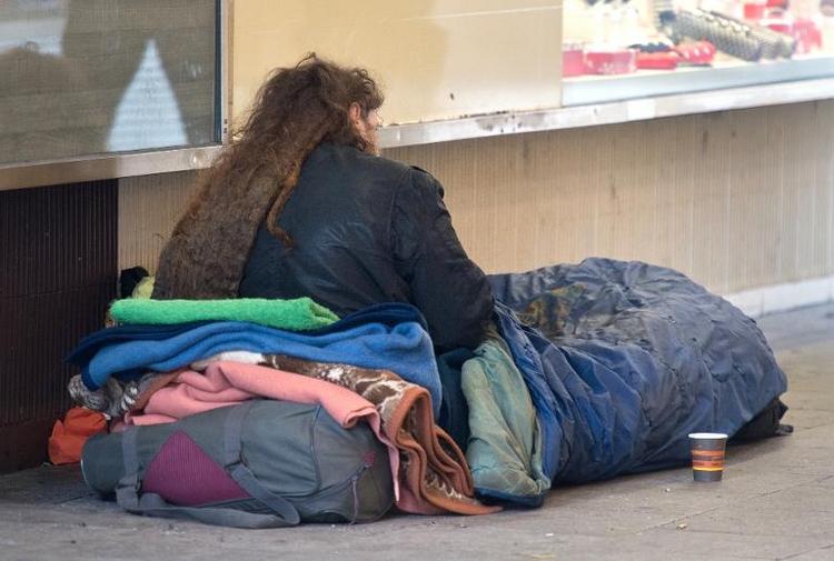 Jeder Fünfte hierzulande arm oder sozial ausgegrenzt (© 2014 AFP)