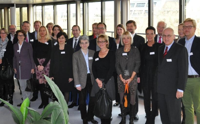 Düsseldorfer Bankenvereinigung spendet 55.400 Euro für gemeinnützige Organisationen (Foto: Düsseldorfer Bankenvereinigung)