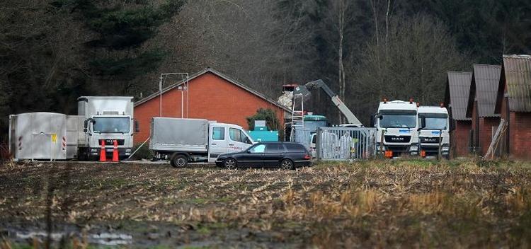 Vogelgrippe breitet sich in Niedersachsen aus (© 2014 AFP)