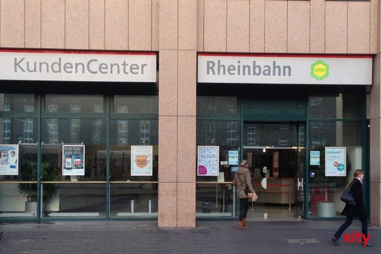 Öffnungszeiten der Rheinbahn an den Feiertagen (xity-Foto: A. Obreiter)