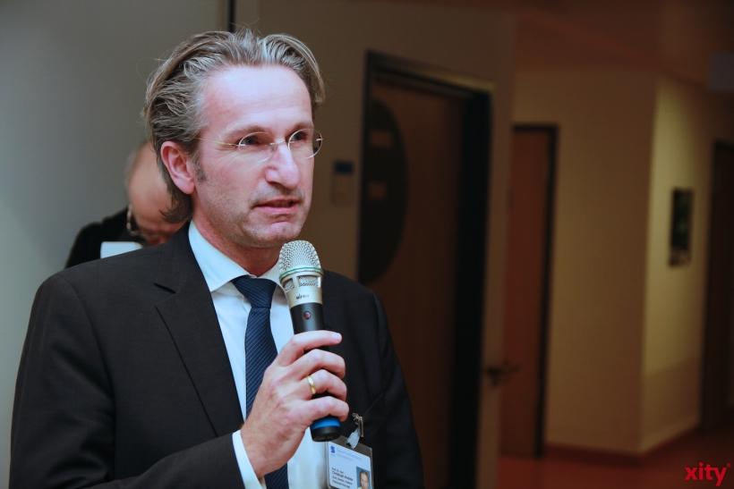 Prof. Dr. Christoph Andree nahm auch an der Eröffnung teil (xity-Foto:P.Basarir)