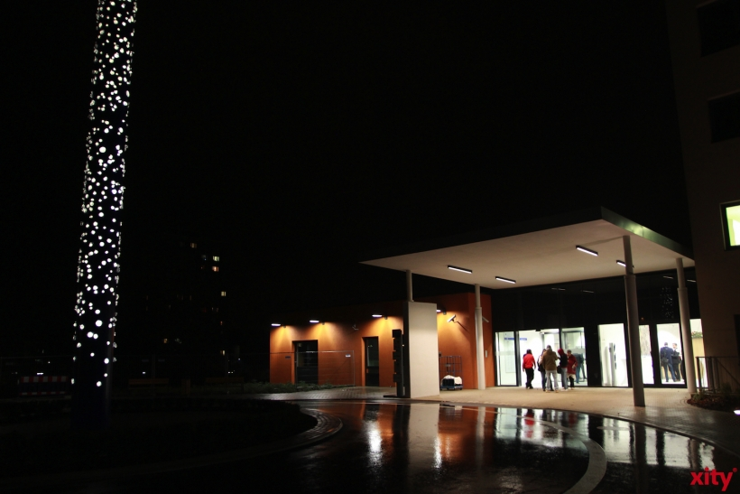 Der neue Haupteingang der Sana Kinik (xity-Foto:P.Basarir)
