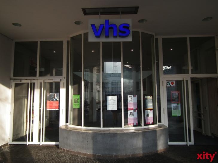 """""""Schnupperangebote"""" der VHS Krefeld im Bereich Gesundheit. (xity-Foto: E. Aslanidou)"""