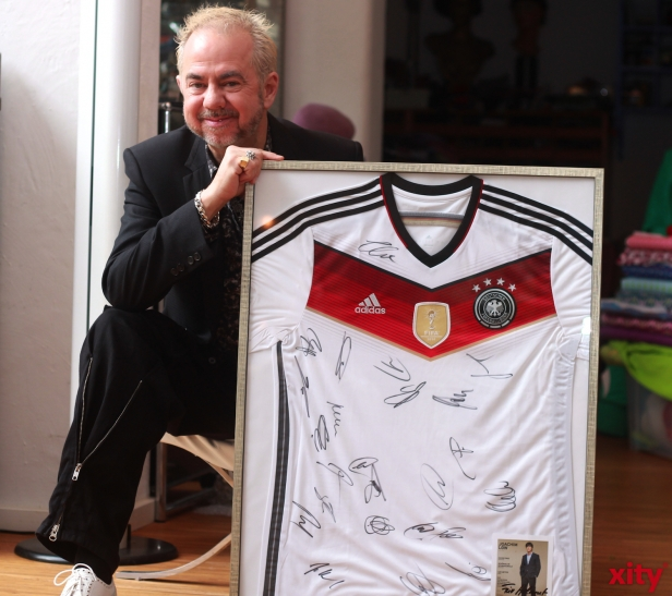 """He composed and produced the music for the film """"Die Mannschaft"""". (xity-Foto: P. Basarir)"""