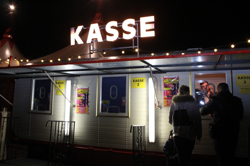 Der Circus Probst gastierte in Krefeld (xity-Foto. E. Aslanidou)