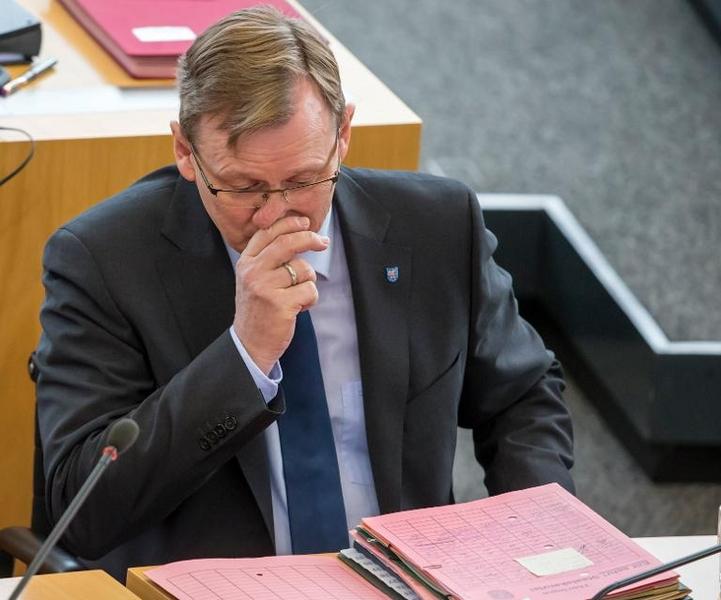 Kritik an Ramelow wegen Fehlens bei Bundesratssitzung (© 2014 AFP)