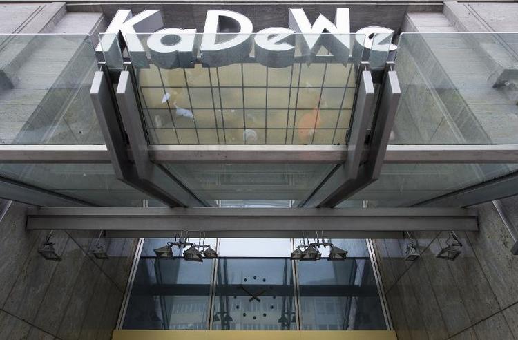 Raubüberfall im Berliner Luxuskaufhaus KaDeWe (© 2014 AFP)