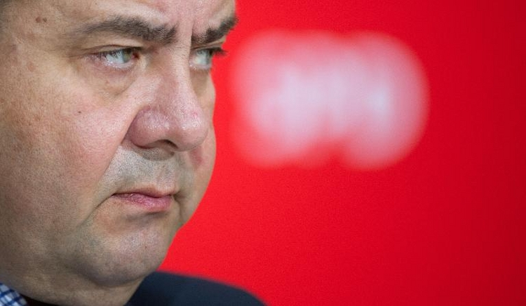 "Gabriel: SPD als Anwalt der ""gehetzten"" Generation (© 2014 AFP)"