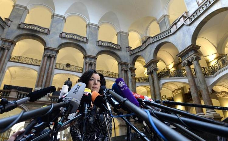 Hoeneß-Prozess beschert Gerichtssprecherin Heiratsanträge (© 2014 AFP)