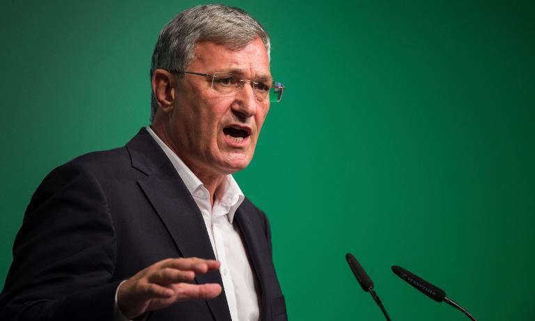 Linken-Chef erhofft sich 2015 Aufschwung im Westen (© 2015 AFP)