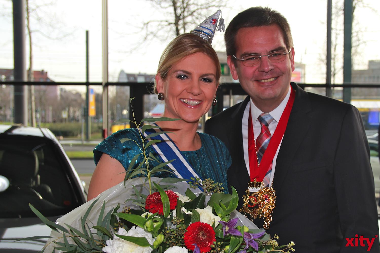 Ventia Claudia und Daniel Bartos (xity-Foto: P. Basarir)