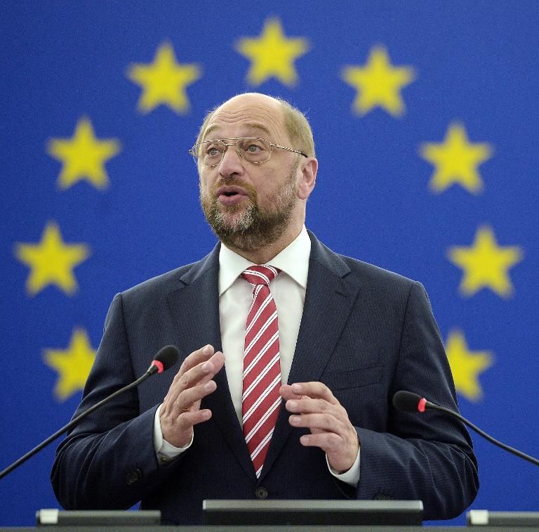 """EU-Parlamentspräsident kritisiert """"Grexit""""-Debatte (© 2015 AFP)"""