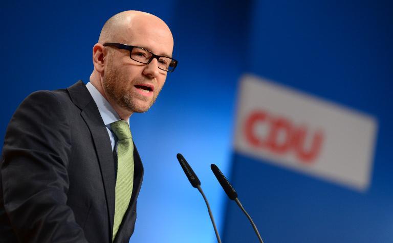 CDU-General bringt Einwanderungsgesetz ins Gespräch (© 2015 AFP)