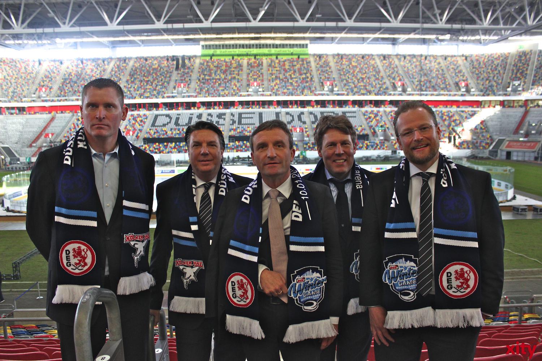 (v.l.) Niklas Sundblad, Jochen Rotthof, Thomas Geisel, Gernot Tripcke und Christof Kreutzer (xity-Foto:A.Obreiter)