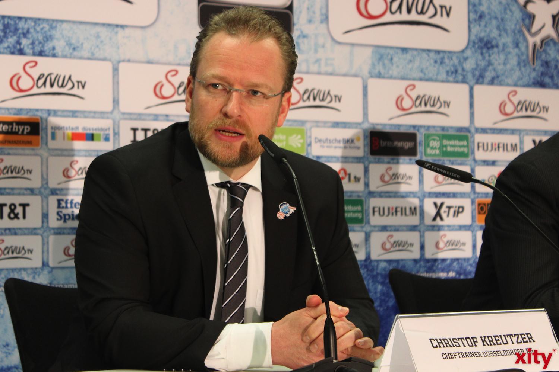 Cheftrainer Christof Kreuzer wird sein Team zur Höchstleistung antreiben (xity-Foto:A.Obreiter)