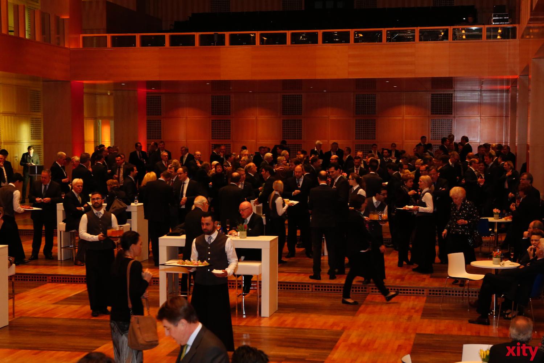 Die Deutsche Bank lud rund 450 Gäste zum traditionellem Neujahresempfang in das Museum Kunstpalast Düsseldorf. (xity-Foto: D.Creutz)