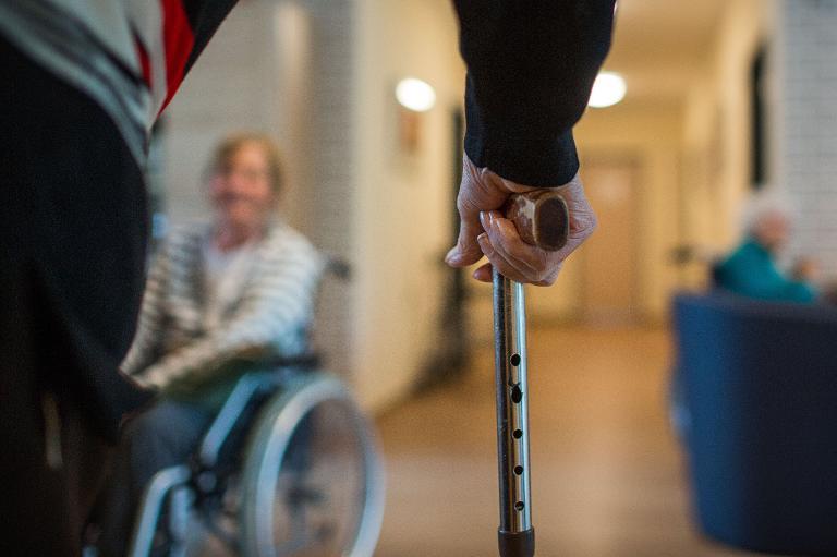 Zahl neuer Auszubildender in Altenpflege auf Rekordhoch (© 2015 AFP)