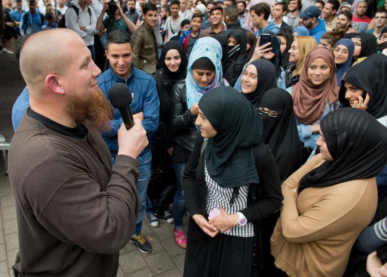 Salafistenszene in Deutschland offenbar rasant gewachsen (© 2015 AFP)