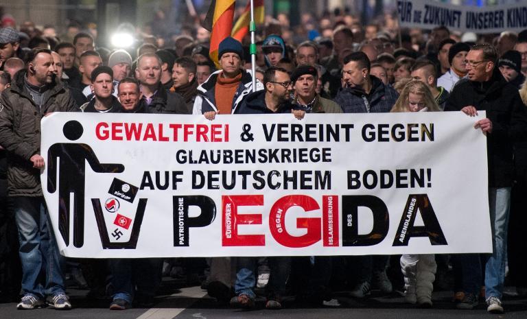 Pegida-Bewegung will als gemeinnützig registriert werden (© 2015 AFP)