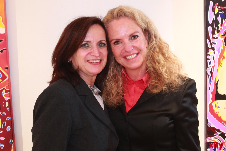 (v.l) Marie-Luise Neubert und Lenka Heimöller (xity-Foto:P.Basarir)