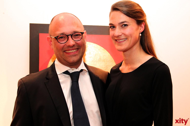 (v.l.) Volker Greisbach und Stella Greisbach (xity-Foto:H.Müller)
