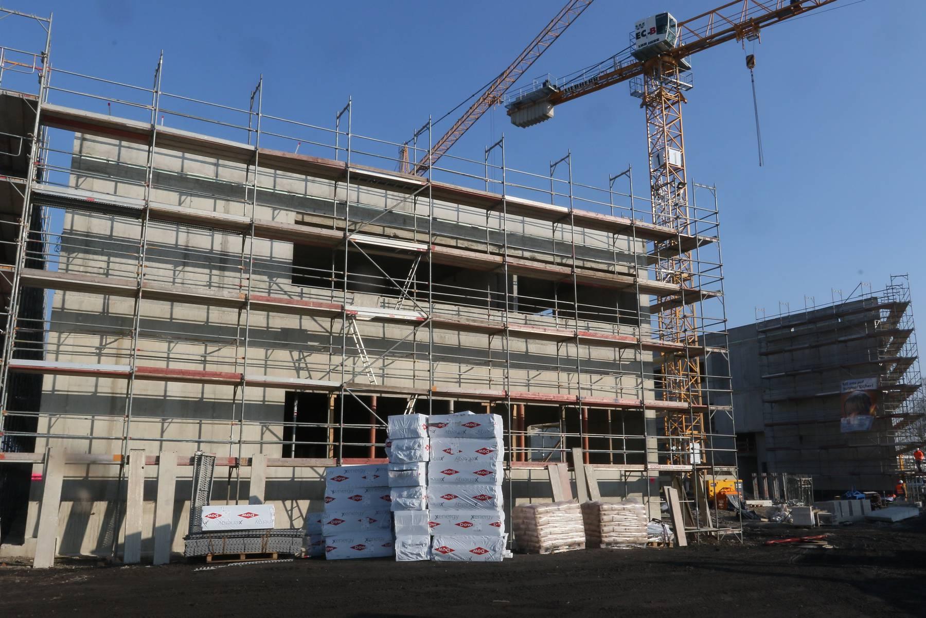 Neue Hauptfeuer- und Rettungswache in Krefeld (Foto: Stadt Krefeld)