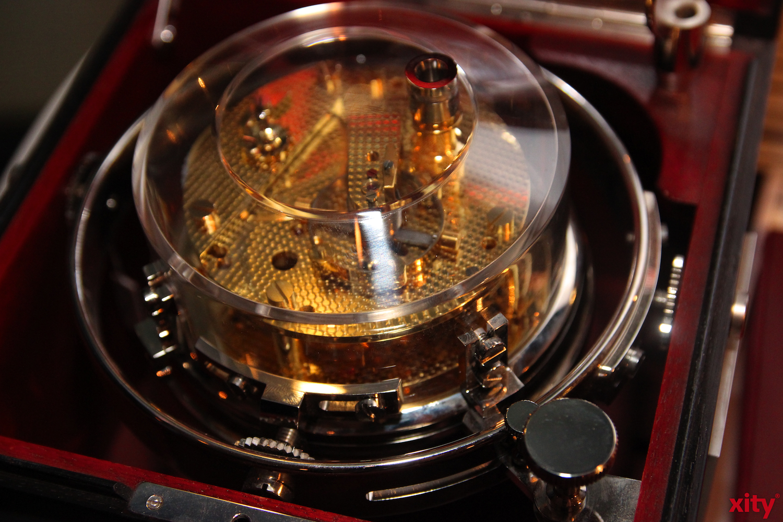 Ein Chronohraph oder auch Zeitschreiber  (xity - Foto: A.Meyer)