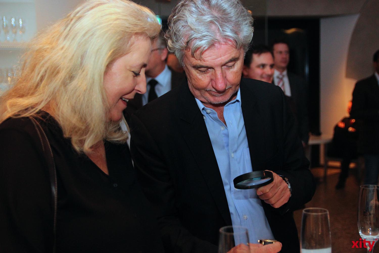 Sowohl Frau als auch  Mann waren begeistert vom Uhrenmacherhandwerk  (xity - Foto: A.Meyer)
