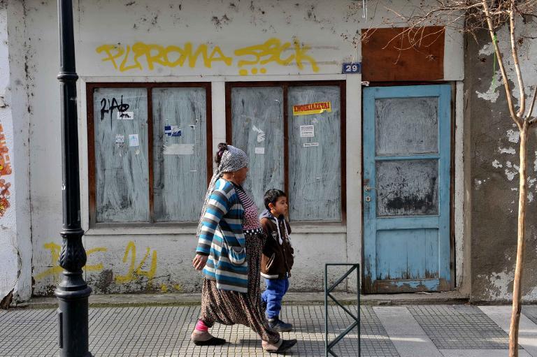 Grüne und Linke: Kampf gegen Sozialkrise in Griechenland (© 2015 AFP)
