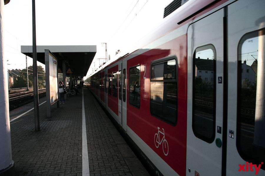 Der angedrohte Streik bei der Deutschen Bahn muss Reisende nicht beunruhigen (xity-Foto: M. Völker)