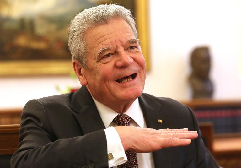 Gauck: Mehr Engagement Moskaus für Frieden in Ukraine (© 2015 AFP)