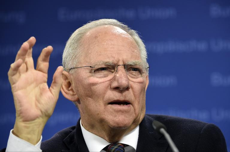 Schäuble sagt höheren Wehretat ab 2017 zu (© 2015 AFP)