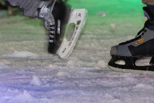 38 Grundschulen starten in Benrath zu den Stadtmeisterschaften im Eislaufen (xity-Foto: D. Creutz)