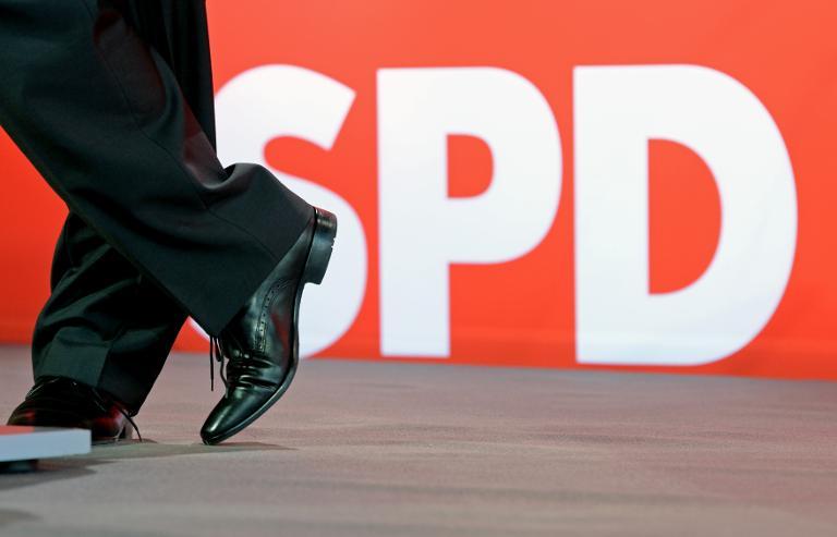 Studie sieht offenbar Imageproblem bei SPD (© 2015 AFP)