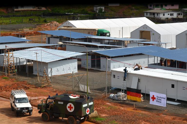 Bundeswehr beendet Ebola-Hilfseinsatz in Liberia (© 2015 AFP)