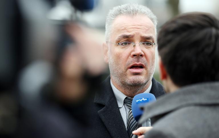 Bestürzte Reaktionen auf Bürgermeister-Rücktritt (© 2015 AFP)