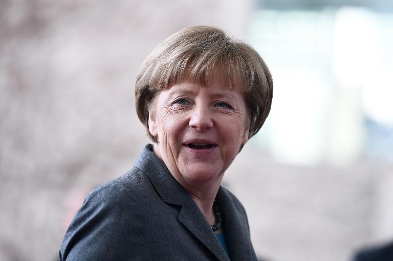 Merkel sagt Militärparade am 9. Mai in Moskau ab (© 2015 AFP)